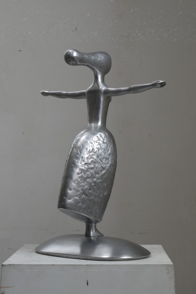 Plašums Latvian sculptore Olga Šilova, Rīga, Latvija
