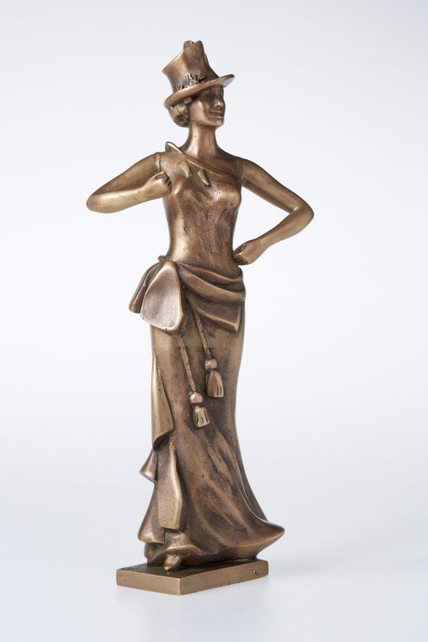 Ļubova Orlova, 2012. Bronza. 28,5x12x9 cm. Autores īpašums.