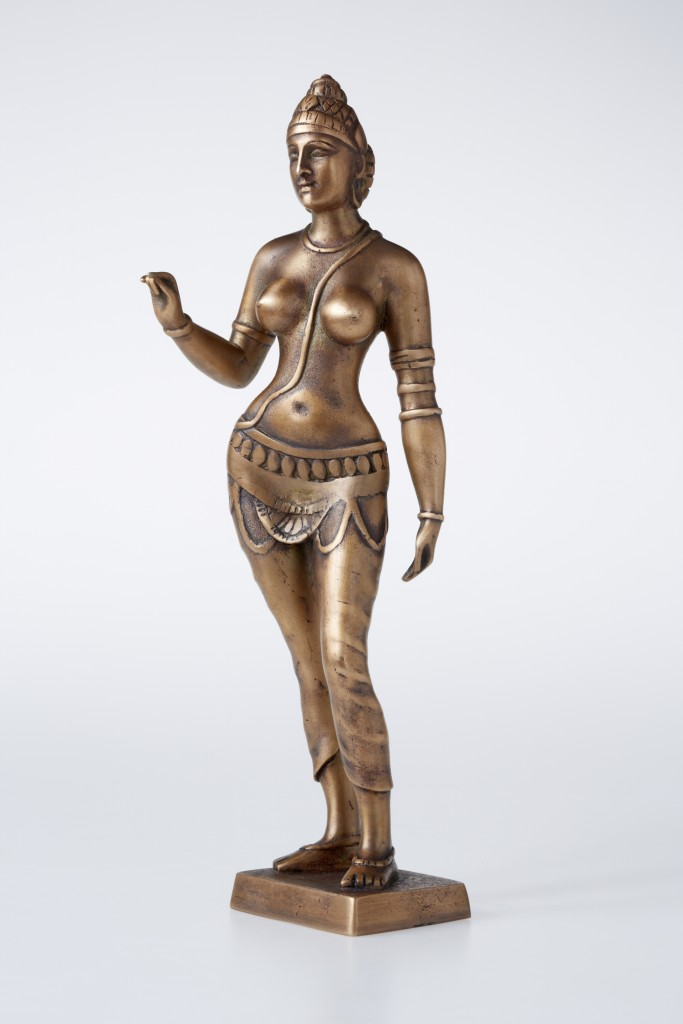 Parvati, 2012 Bronze. 31x11x10 cm. Author's private collection.