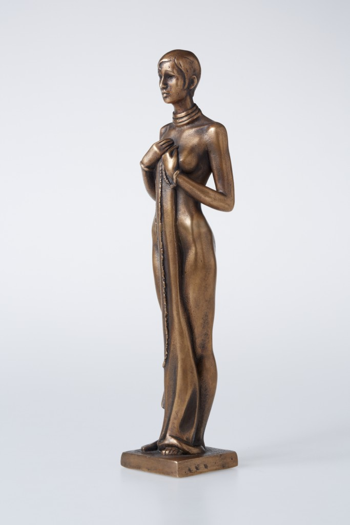 Josephine Baker, 2012 Bronze. 29.5x8x6 cm. Private collection, Azerbaijan.