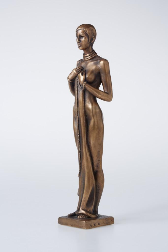 Josephine Baker, 2012. Bronza. 29.5x8x6 cm. Privātkolekcija, Azerbaidžāna.
