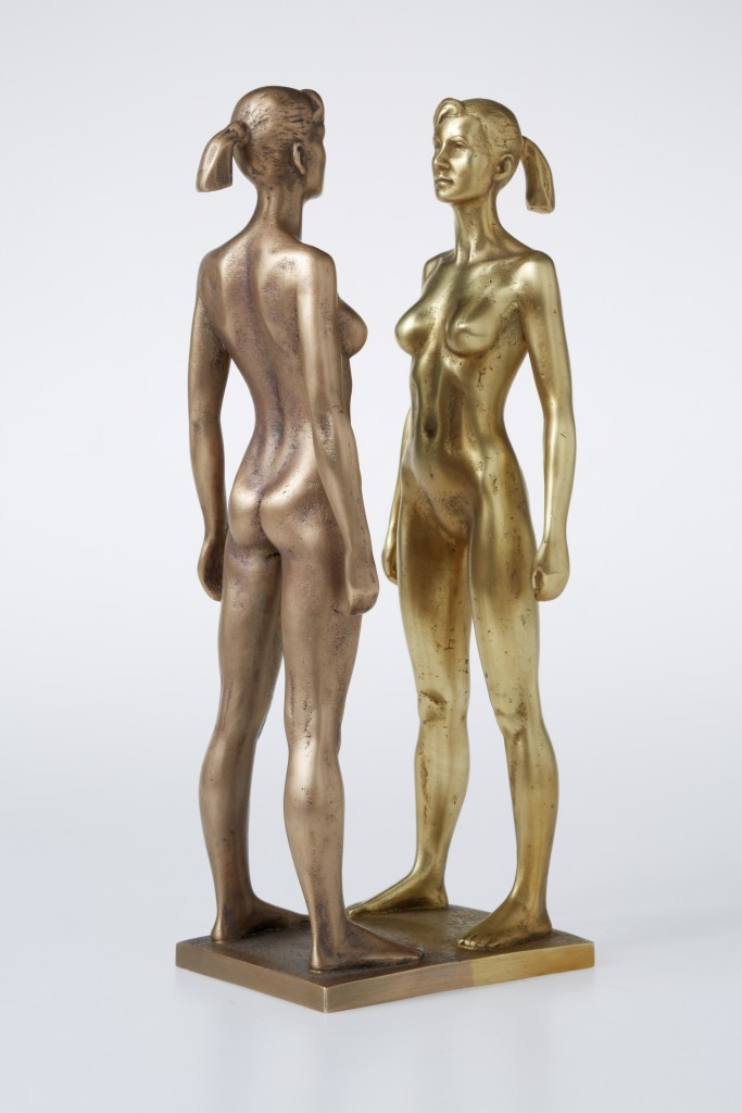 Solitude, 2012 Bronze. 30x15x9 cm. Author's private collection.