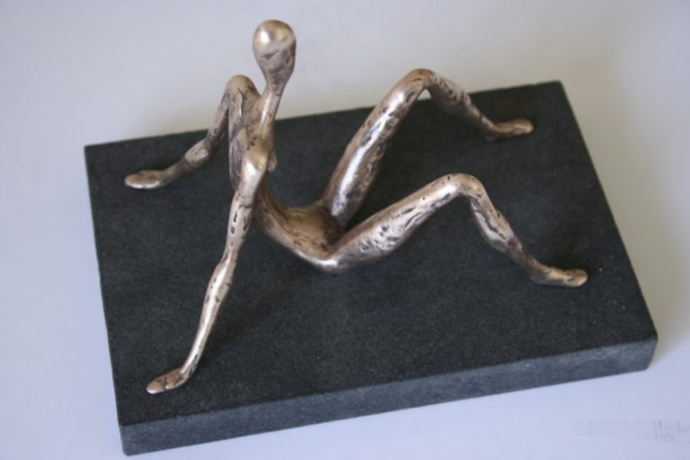 Dreamer, 2008 Bronze, granite. 13x11x17 cm. Author's private collection.