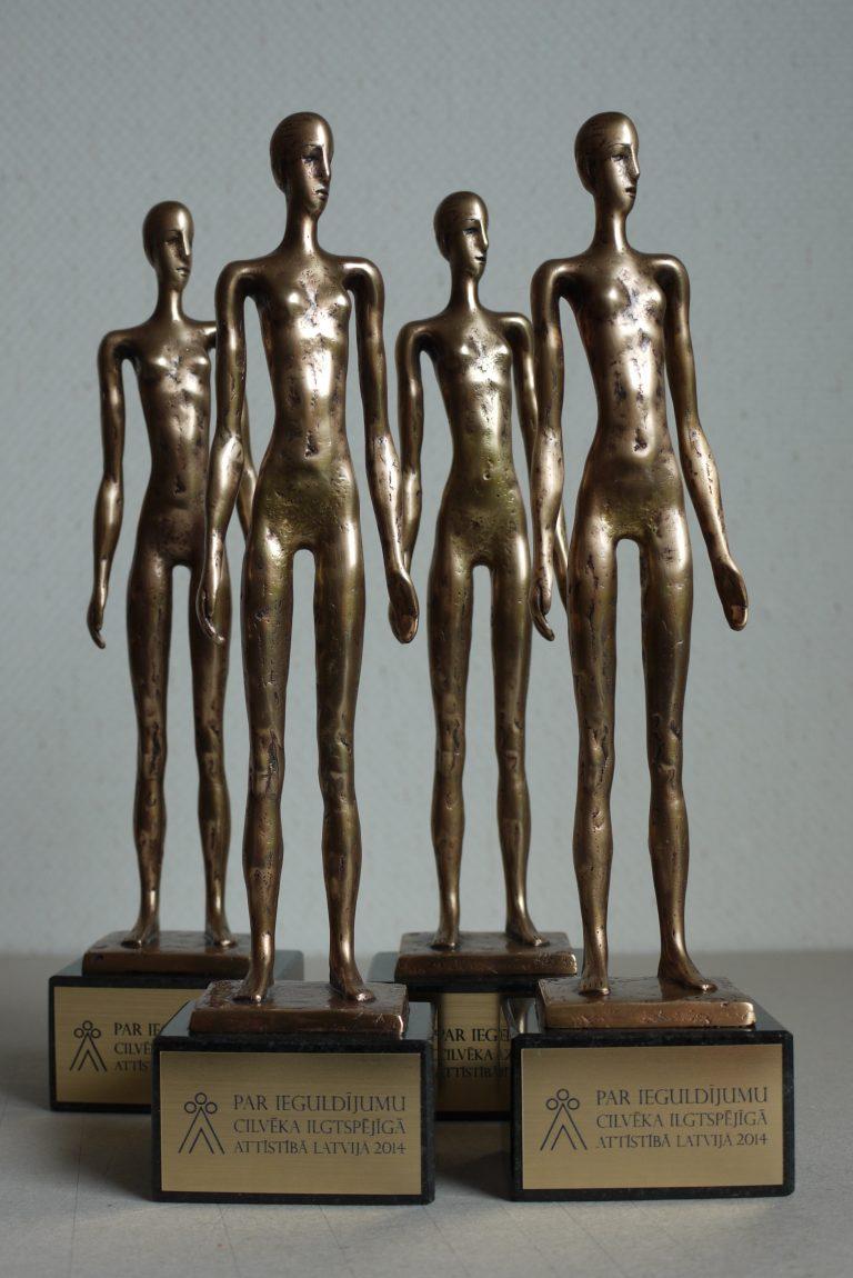 Sprout award American Chamber of Commerce Latvia order Olga Shilova Sculptore