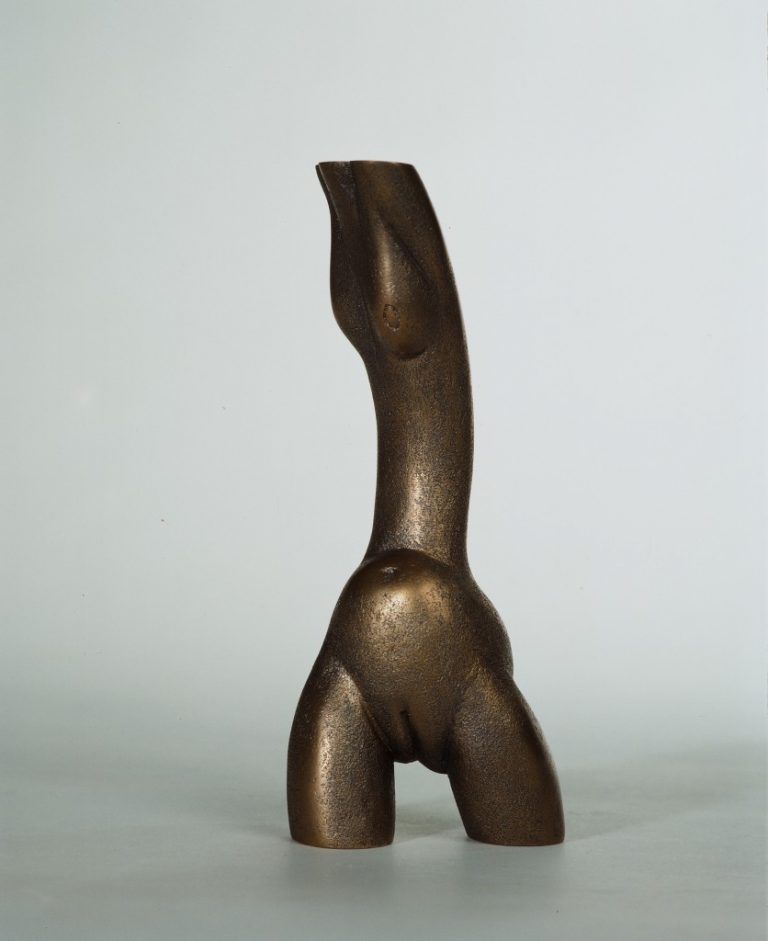 Torso 1994 Bronze. 22 X 9 X 9 cm Private collection, Latvia