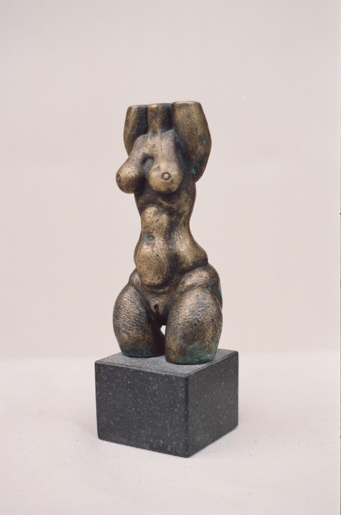 Torso 1991 bronze, granite Private collection, Sweden