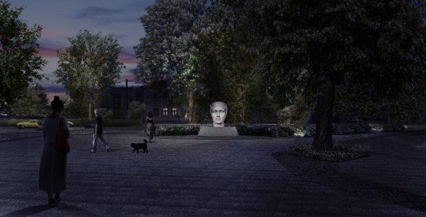 Environmental object/Sculpture for Latvia 100. Dobele. 2017.