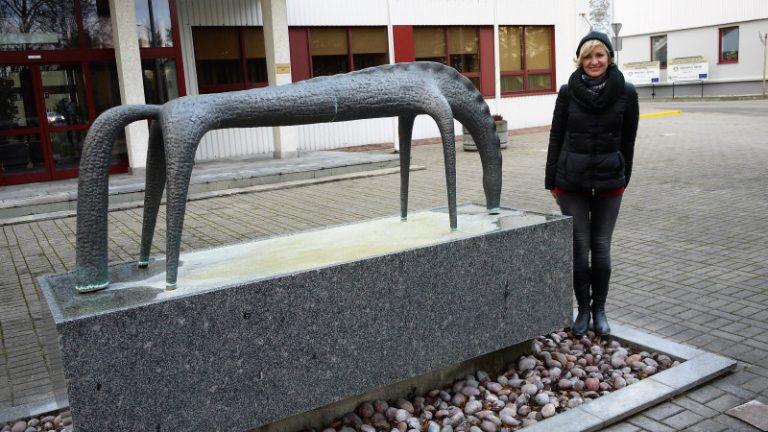 Strūklaka Zirgs